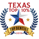 Texas top dentists 2019 logo